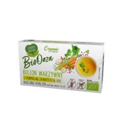 Bulion eko warzywny z minimalną zawartością soli BioOaza 66g Organic
