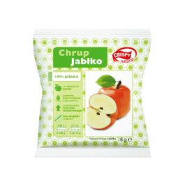 Chipsy suszone z jabłka 100% 18g Crispy natural