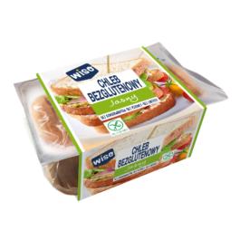 Chleb bezglutenowy jasny 350g Wiso