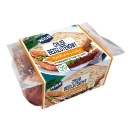 Chleb bezglutenowy wieloziarnisty 350g Wiso
