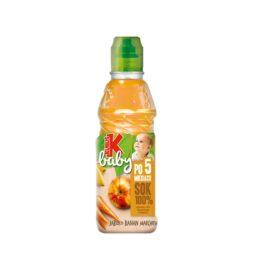 Sok Kubuś baby 100% jabłko/banan/marchew 300ml Maspex