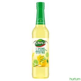Syrop Łowicz o smaku limonki i cytryny 400ml Maspex