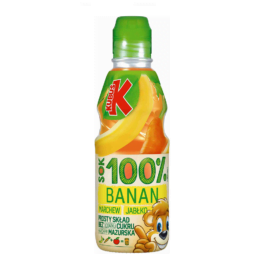 Sok Kubuś 100% jabłko/banan/marchew 300ml Maspex