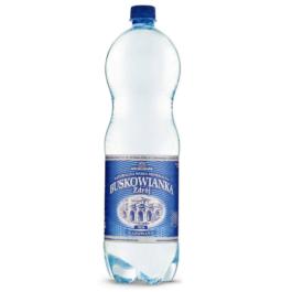 Woda mineralna gazowana Buskowianka 1,5l Uzdrowisko Busko-Zdrój