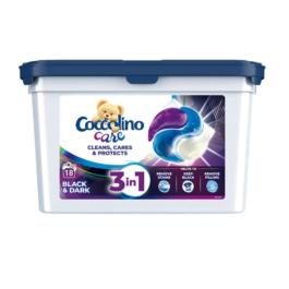 Kapsułki do prania Coccolino Care black 18szt Unilever