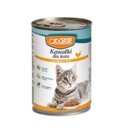 Karma dla kota drób w sosie 410g MW Społem