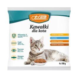 Karma dla kota saszetki mix smaków 4x100g MW Społem