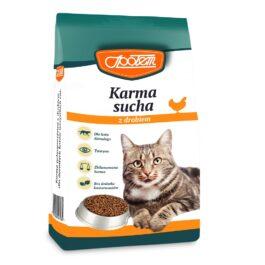 Karma dla kota sucha z drobiem 400g MW Społem