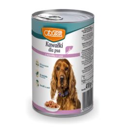 Karma dla psa wątróbka w sosie puszka 410g MW Społem
