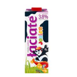 Mleko UHT łaciate Junior 3,8% 1 litr Mlekpol