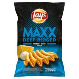 Chipsy Lay's Maxx o smaku sera i cebulki 130g Frito Lay