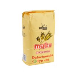 Mąka pszenna Dalachowska 1kg Młyny Dalachów
