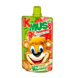 Mus Kubuś 100% truskawka/jabłko/banan/marchew 100g Maspex