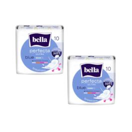 Podpaski ze skrzydełkami Bella perfecta ultra blue 10szt TZMO