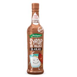 Syrop do mleka o smaku kakaowym 420ml Herbapol