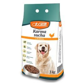Karma dla psa sucha z drobiem 3kg MW Społem