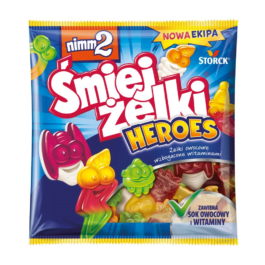 Żelki Śmiejżelki Heroes Nimm2 90g Storck
