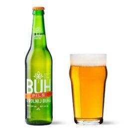 Piwo BUH Pils butelka bzw 500ml Manufaktura Piwa