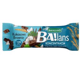 Baton Ba!lans koncentracja kokosowe brownie 35g Bakalland