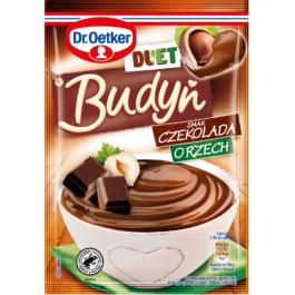 Budyń Duet o smaku czekoladowo-orzechowym 45g Dr.Oetker