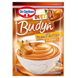 Budyń Duet peanut butter-karmel 40g Dr.Oetker