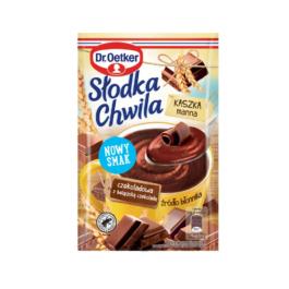 Kaszka manna Słodka chwila czekoladowa z belgijską czekoladą 50g Dr.Oetker