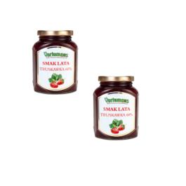 Owoce deserowe Smak Lata Truskawka 60% 370g Vortumnus