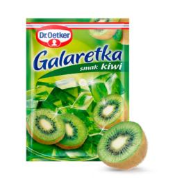 Galaretka o smaku kiwi 77g Dr.Oetker